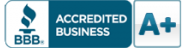 A+ Better Business Bureau Accredited