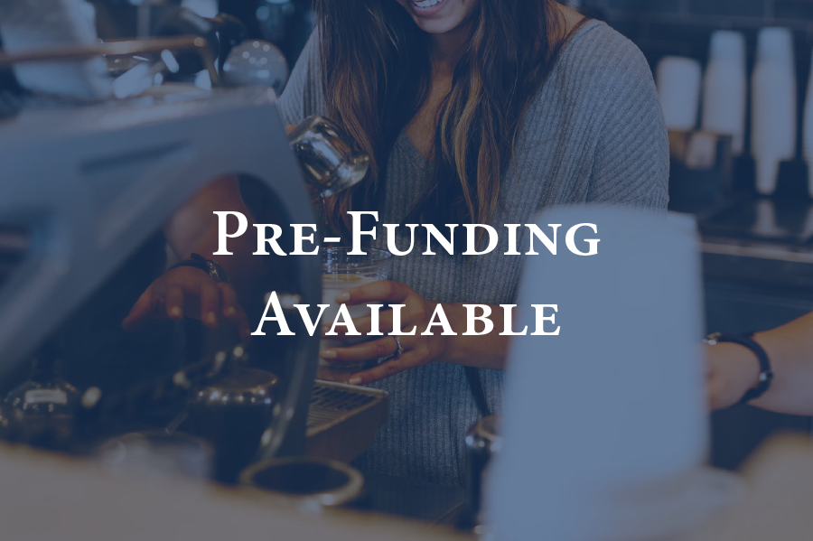 Prefunding Available